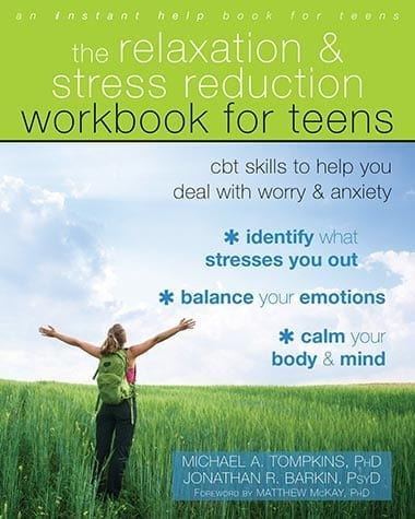 Cover image of The Relaxation and Stress Workbook for Teens