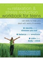 Photo of the cover for The Relaxation and Stress Reduction Workbook for Teens